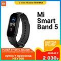 Смарт-браслет Xiaomi Mi SmartBand 5| фитнес-трекер| сенсорный экран| смарт-браслет | пульсометр 125 мАч| Bluetooth 5,0|черный