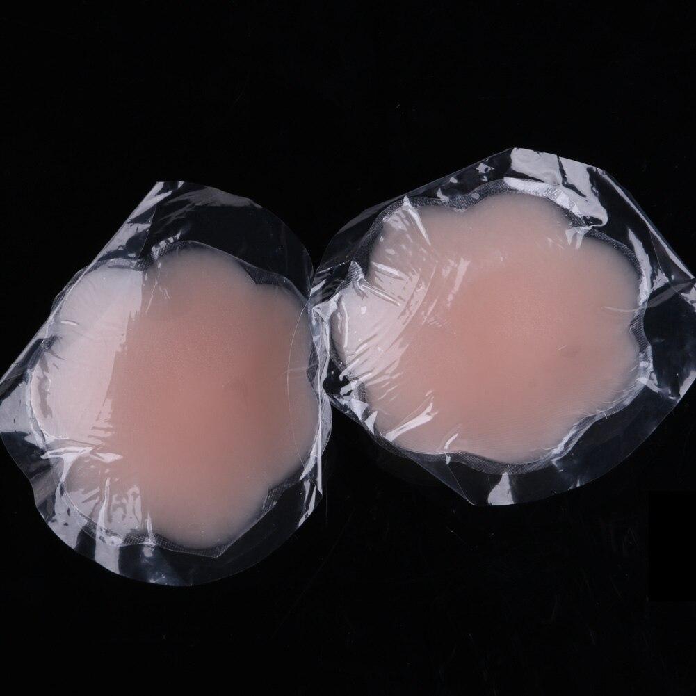 Новый модный многоразовый самоклеющийся силиконовый чехол для груди, бюстгальтер, коврик