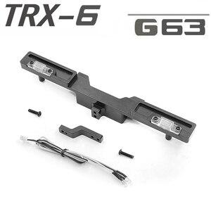 Задний бампер с буксировочным крючком светильник 3 мм светодиодный для TRAXXAS TRX6 G63 RC автомобильные аксессуары Запчасти