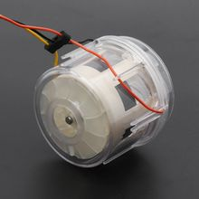 Double Turbine Blade Brushless Fan Motor DIY Vacuum Cleaner Hair Dryer Hot Air Gun G8TB