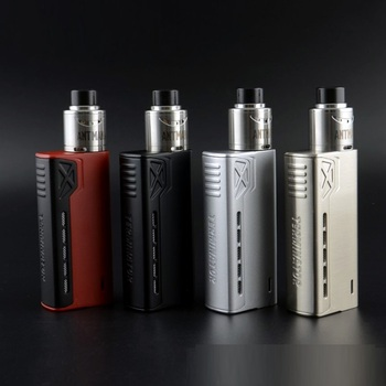 electronic cigarette 90W Box mod fit 18650 battery 510 rda rta tank atomier with led indicater for hookah box vape mech mod