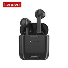 Lenovo auriculares inalámbricos QT83 TWS, originales, Bluetooth 5,0, HIFI, con cancelación de ruido, llamada HD, táctil inteligente con micrófono