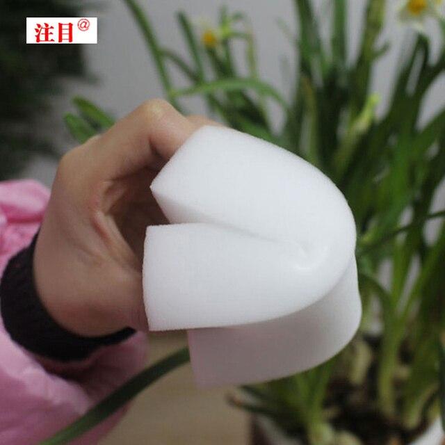 أبيض ماجيك تنظيف إسفنجة من الميلامين ممحاة متعددة الوظائف ، حجم كبير 11*7*4 سنتيمتر