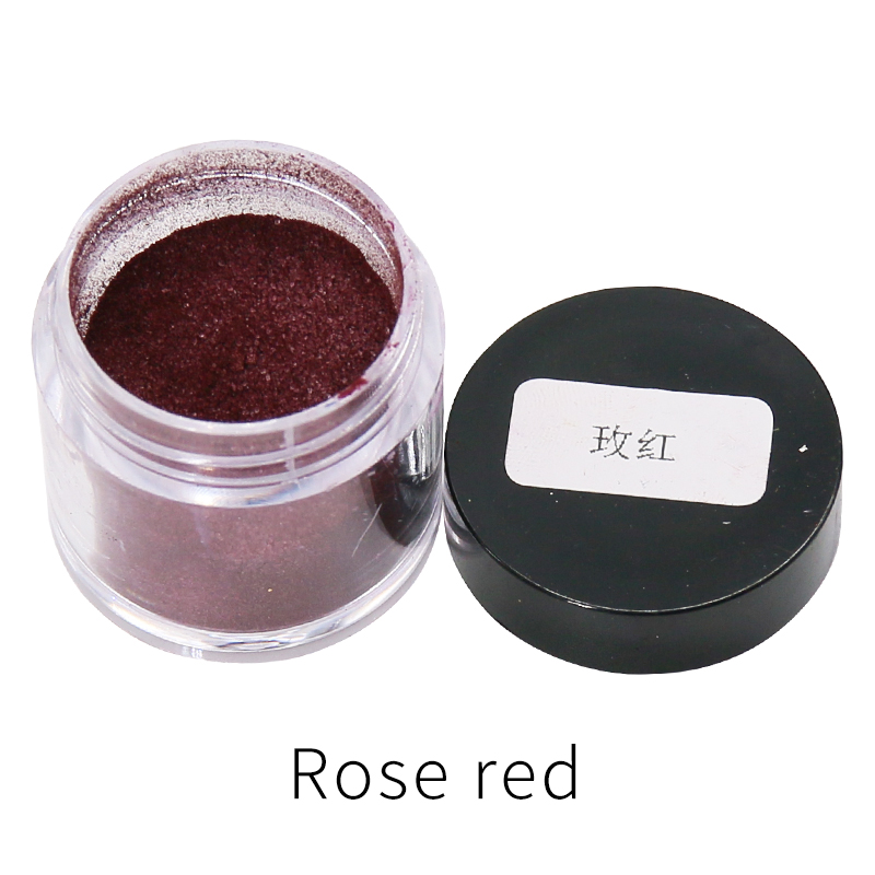 Rose Red Fabric Dye Powder Pigment Dye For Clothing Renovation In Cloth Feather Bamboo Dyestuff Acrylic Paint Powder 10g/bottle