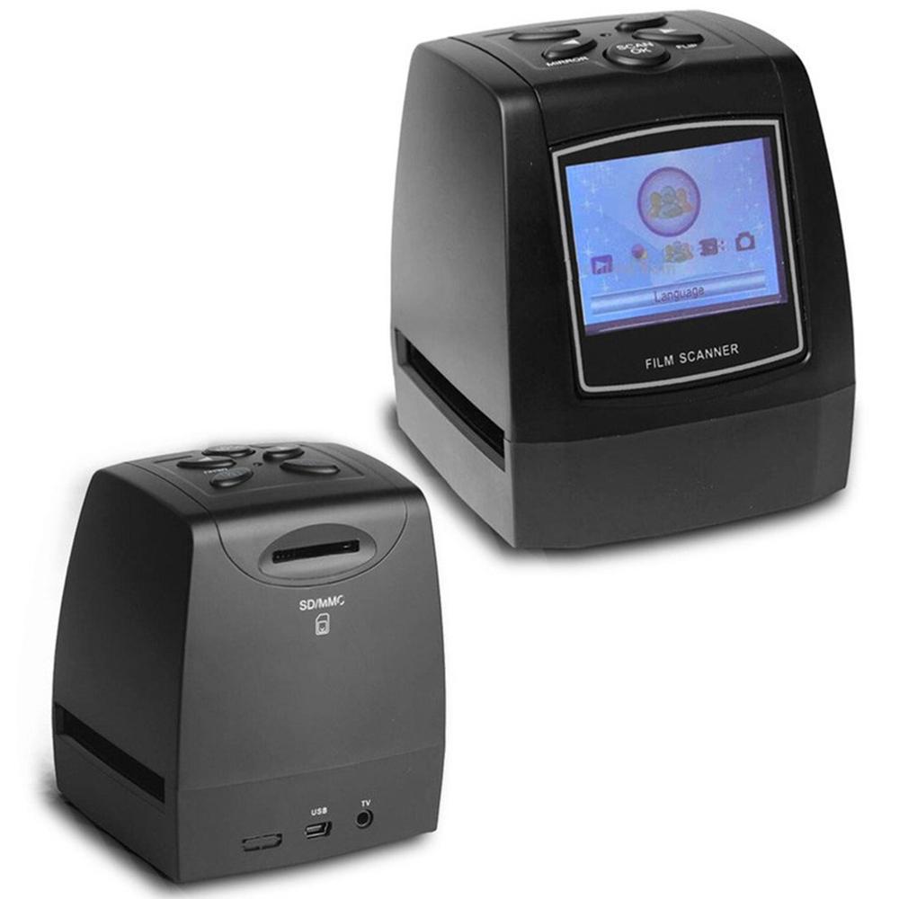 Scanner de Film multifonction Portable Scanner de Film Galin Scanner de couleur et diapositives noires et blanches - 2