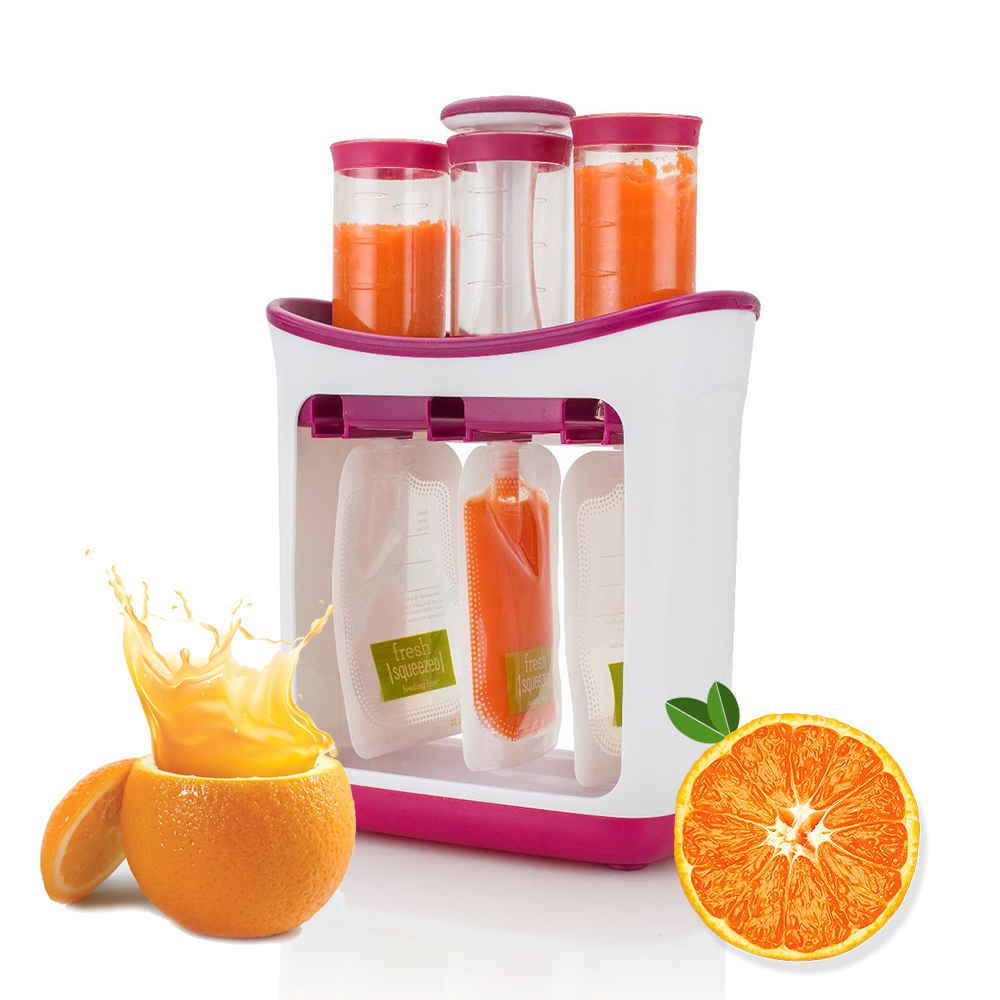 Baby Food Maker Make Organic Food For Newborn Fresh Fruit Juice Containers Storage Baby Feeding Maker Kids Food Insulation Bags