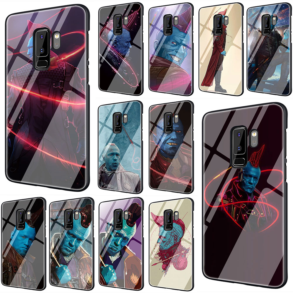 EWAU yondu Tempered Glass Phone Cover Case For Galaxy S7 edge S8 9 10 Plus Note 8 9 10 A10 20 <font><b>30</b></font> <font><b>40</b></font> <font><b>50</b></font> <font><b>60</b></font> <font><b>70</b></font> image
