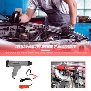 Image 4 - 12V Inductive עיתוי אור מעשי רב תפקודי עמיד רכב אופנוע מנוע הצתה עיתוי מנורת גלאי