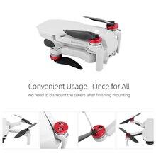4pcs אלומיניום סגסוגת מנוע כיסוי כובע משמר עבור DJI Mavic מיני מנוע Dustproof עמיד למים הגנה חילוף חלקי Drone אבזרים
