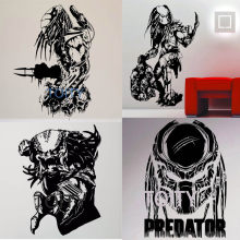 22 Designs Predator Movie Wall Sticker Retro Film Poster Vinyl Decal Dorm Home Interior Living Room Art Decor Removable Mural(China)