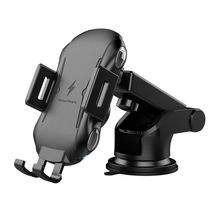 Automatic Air Vent Clamp Wireless Car Charger Mount 10W Qi Fast Charging Car Phone Holder for iPhone/Samsung Note/Huawei/Xiaomi/ цена и фото