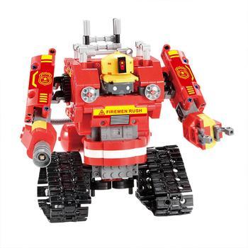 Kuulee Remote Control Deformation Robot Interpid Finley Building Blocks Toy