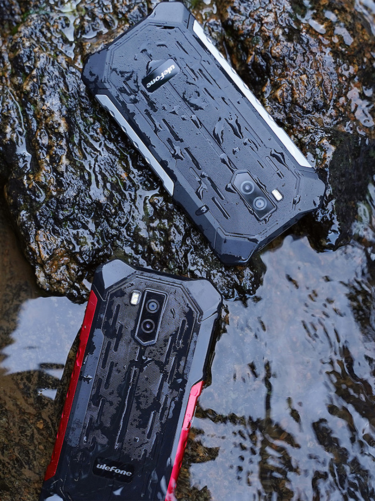 Ulefone Mt6580 Armor X3 Rugged Smartphone 32GB GSM/WCDMA Gorilla Glass Quad Core Face Recognition