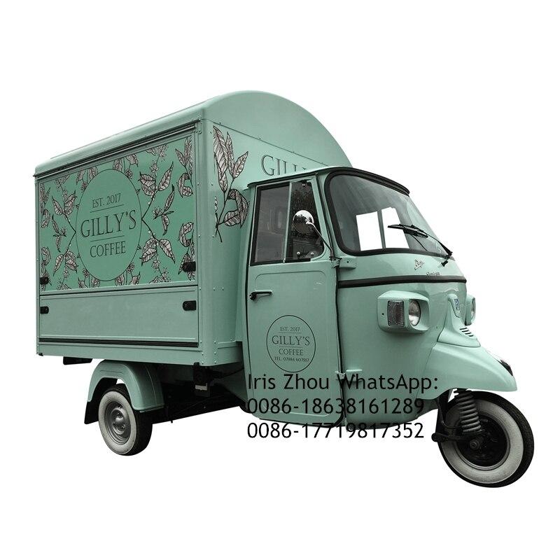 Piaggio Ape USA Custom Built Piaggio Ape Classic Food Truck For Sale