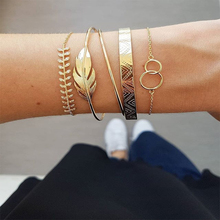 Hot sale hand jewelry exotic style hollow double round wide