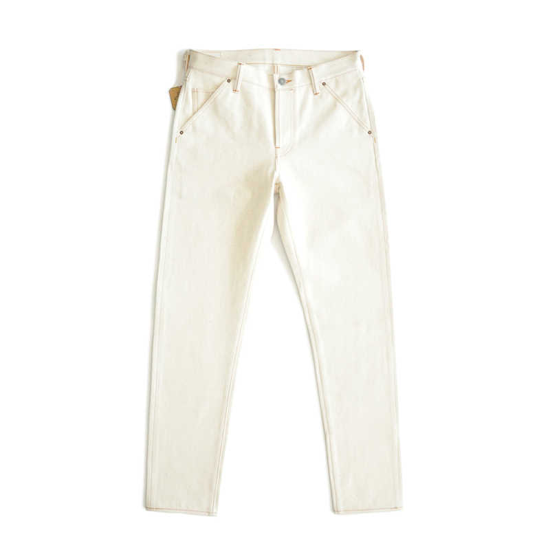 SAUCE HERKUNFT Männer Jeans Raw Denim Jeans Selvedge Jeans Kegel Jeans Männer Embryo Farbe Punkt Weiß Jeans herren jeans