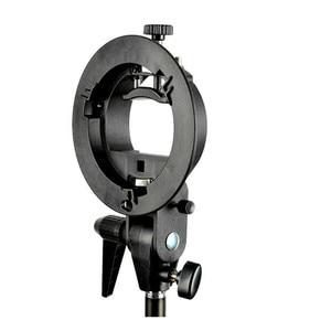 Image 3 - Godox s type soporte de plástico duradero Bowens soporte de montaje para Speedlite Flash Snoot Softbox accesorios de estudio fotográfico