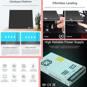 Image 3 - Anycubic 3D Máy In Mega X 300*300*305Mm Máy In Mega X In Lớn Kích Thước MeanwellPower Cung Cấp 3d Impressora