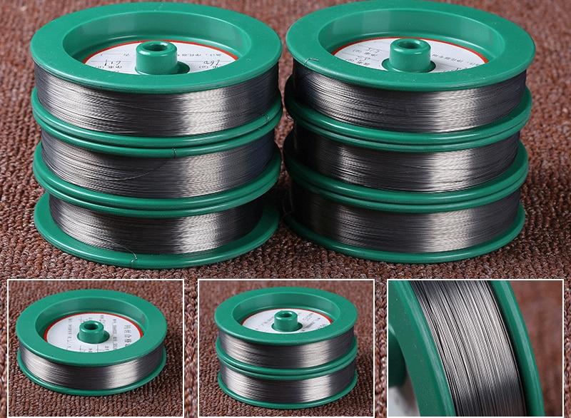 0.02mm~2mm 1m Air Purifier Special Tungsten Wire Silver White Black 99.9% High Purity Electrostatic Precipitator Tungsten Wire