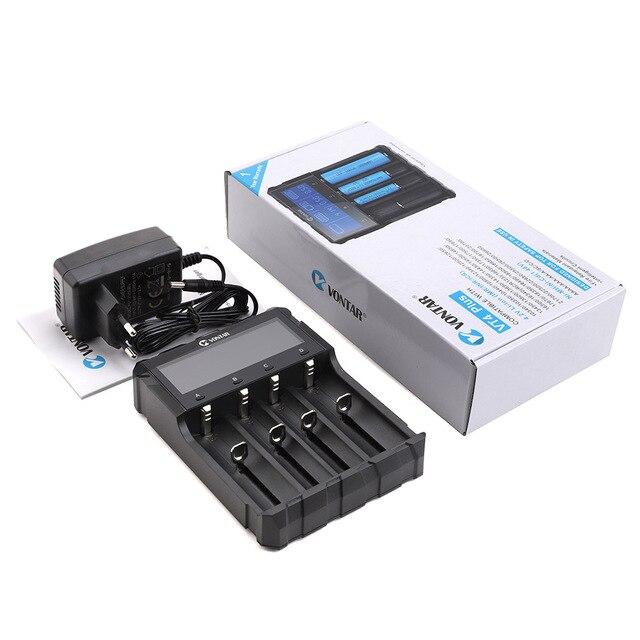 Caricabatterie intelligente 18650 ricarica per batterie ricaricabili agli ioni di litio 26650 18650 14500 16340 AA AAA 1.5V 3.7V