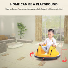 Remote Control Bumper coche Ride On Bumper Car Toy for Toddlers Aged 1.5+ 6V Battery-Powered with Light(China)