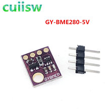 Temperatura da umidade do sensor de 3in1 bme280 GY-BME280 digitas spi i2c e sensor de pressão barométrica módulo 1.8-5 v dc alto precisio