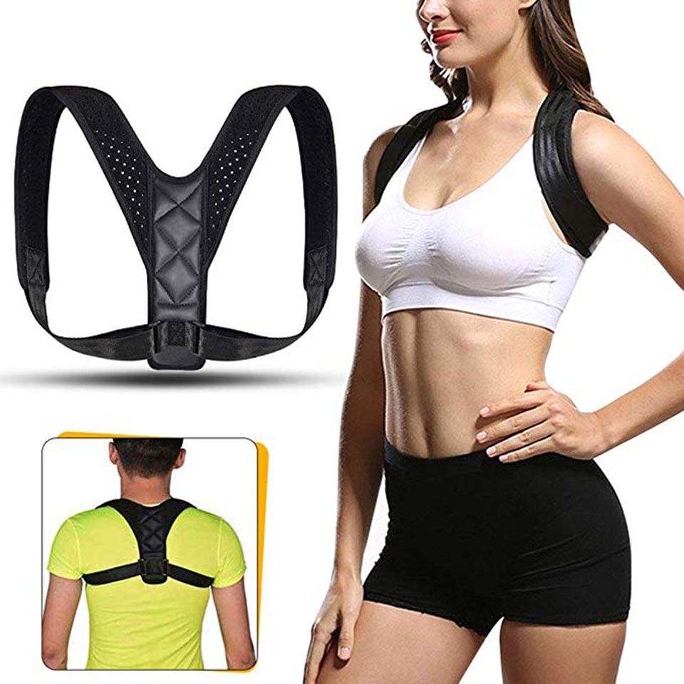 Brace Support Belt Adjustable Back Posture Corrector Clavicle Spine Back Shoulder Lumbar Posture Correction For Men Women