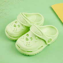 Kids Cave Shoes Children Summer Flip Flops Indoor Cute Sandals Baby Girl Boy Cartoon Bear Toddler Beach Water Garden Slippers(China)