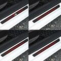 4 шт., автомобильная Накладка на порог, защитное покрытие из углеродного волокна для сиденья ibiza FR + leon Ateca, автомобильный Стайлинг, педаль