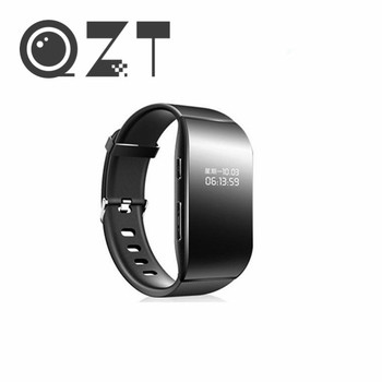QZT Digital Voice Recorder Watch Wristband Audio Recorder Professional Dictaphone MP3 Player Mini Sound Voice Activated Recorder
