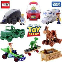 Takara tomy tomica passeio no brinquedo história 4 amadeirado modelo de veículo recreativo