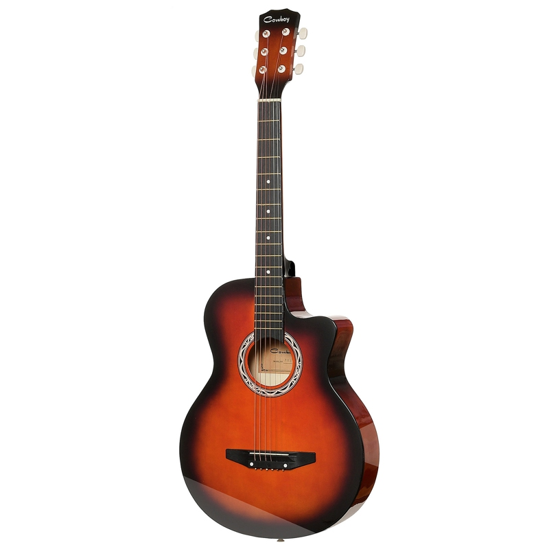 Guitar Acoustic Guitar COWBOY 38C SB hot 5x sound hole pickup for acoustic guitar with tone volume control