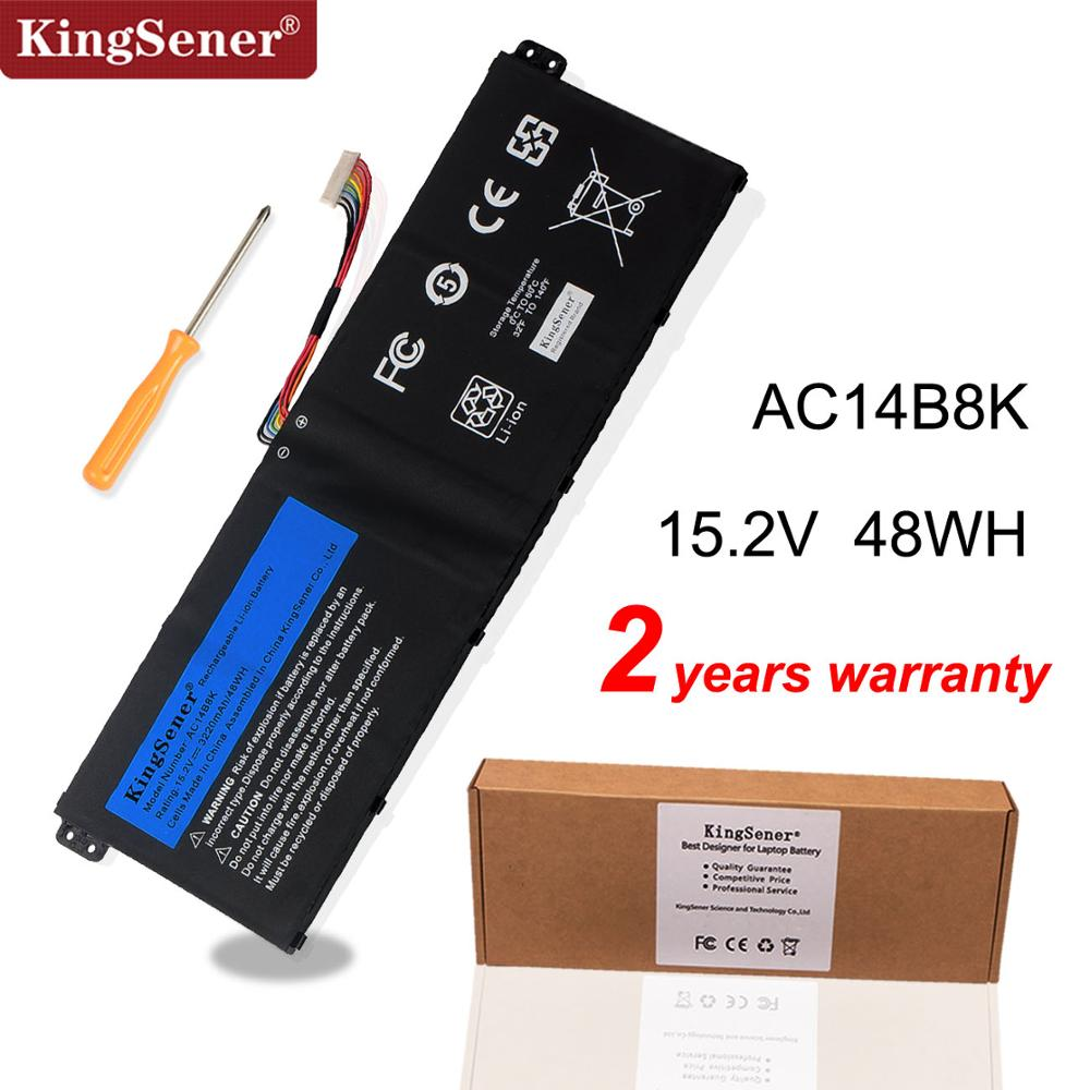 KingSener AC14B8K Battery For Acer Aspire CB3-111 CB5-311 ES1-511 ES1-512 ES1-520 S1-521 ES1-531ES1-731 E5-771G V3-371 V3-111