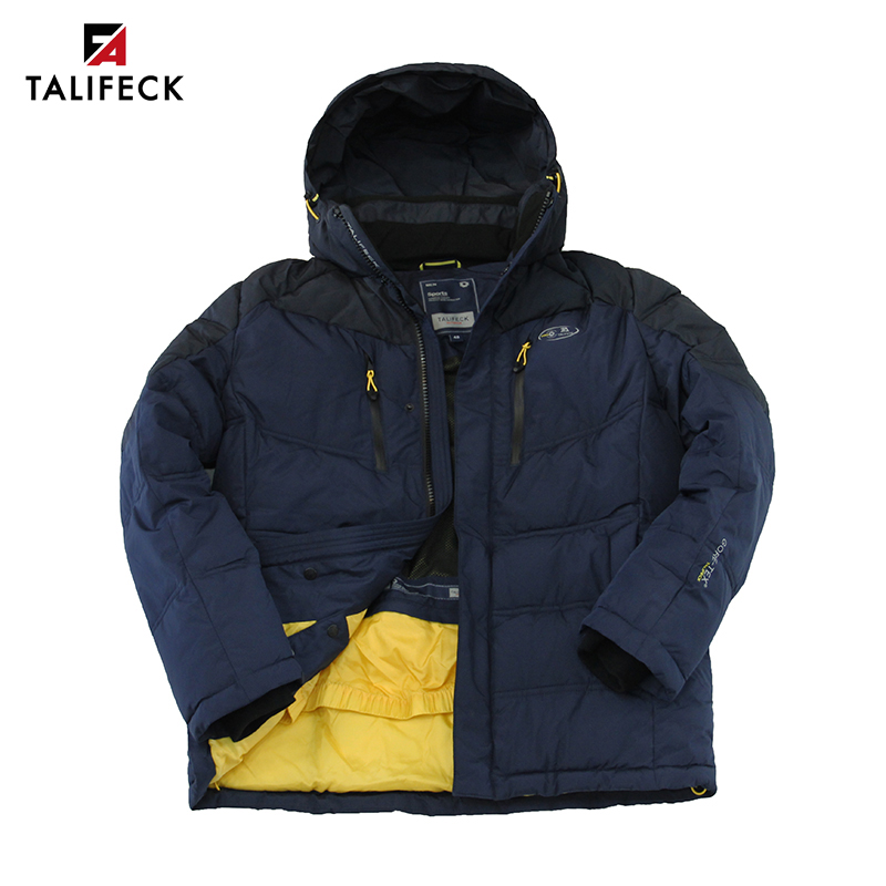 2020 New Men Winter Jacket Warm Cotton Thick Winter Coat Mens Patchwork Padded Jacket Parka Overcoat Russian Size Men Clothes