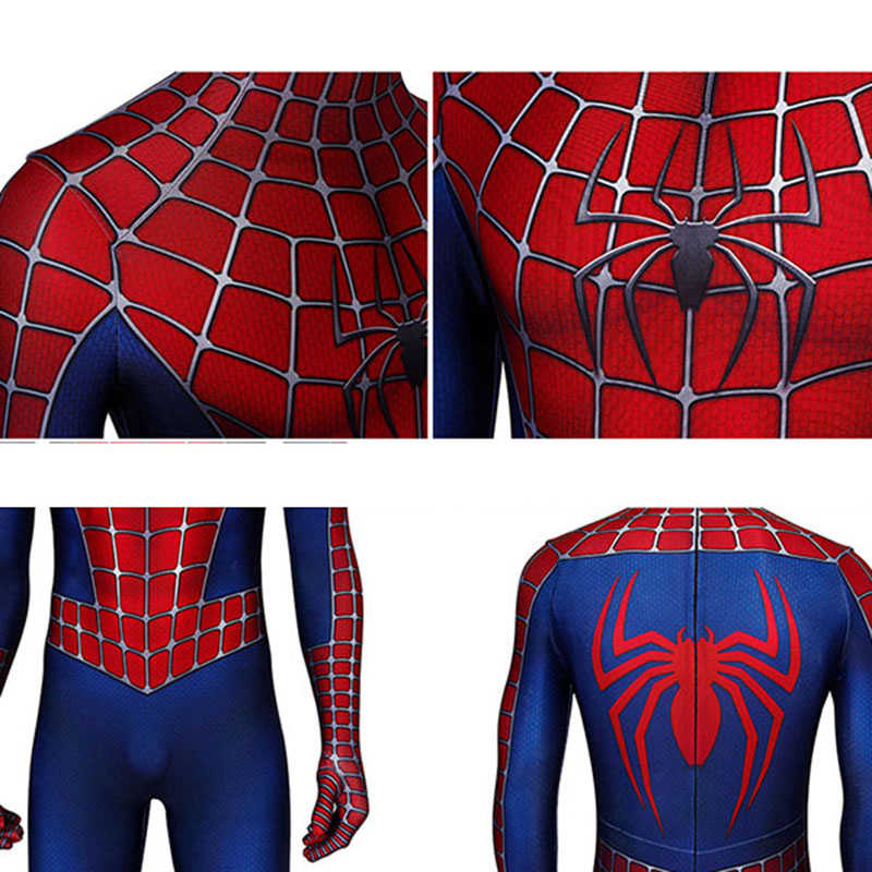 Spider-Man dans l'araignée-vers Costume adolescent Miles Morales retour Cosplay Peter Parker Spiderman Halloween adulte Zetai