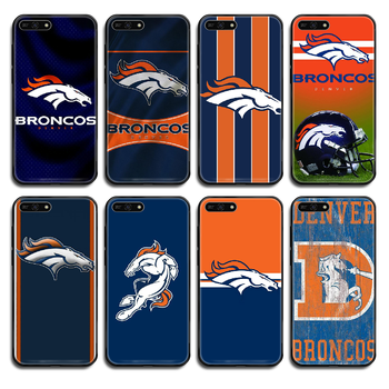 Denver Bronco American Football Phone case cover hull For Huawei Honor Mate 5 6 7 8 9 10 20 30 A C X Lite Pro black prime trend image