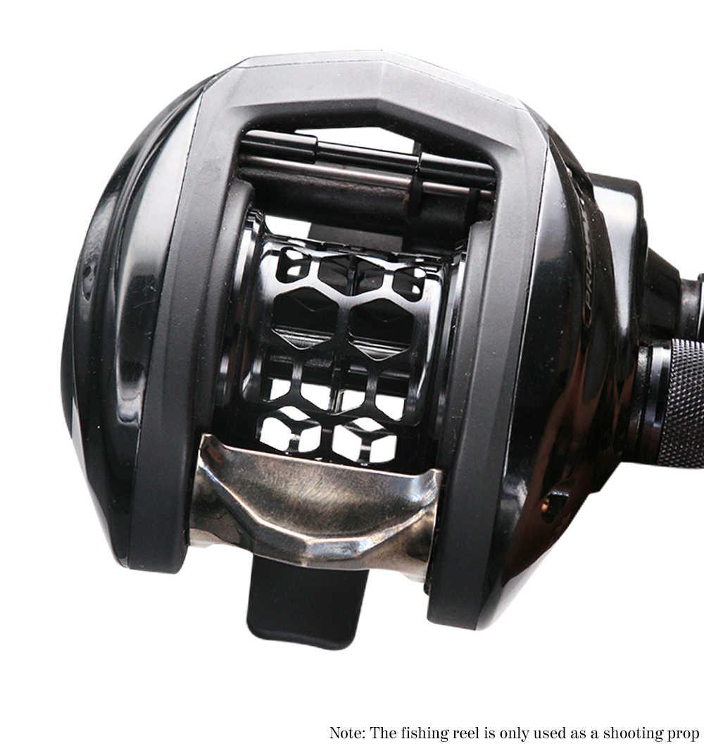 2019 FAI DA TE Mulinelli Baitcast Bobina di Filo di Alluminio di Aeronautica Tazza di Pesca Spool Pezzi di Ricambio Lancio Delle Esche Bobina di Filo Tazza Per PMAX3 /BMAX3/SMAX3 Pesca refit
