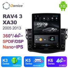 Android 10.0 Ownice Autoradio 2 Din for Toyota RAV4 3 XA30 2005 2013 Car Radio Auto GPS Navigation Multimedia DSP