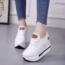 Trainers women sneakers vulcanized wedge sneakers