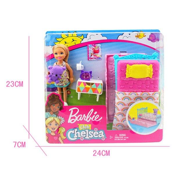 Купить оригинальная кукла «челси» барби для детской кровати с радужной