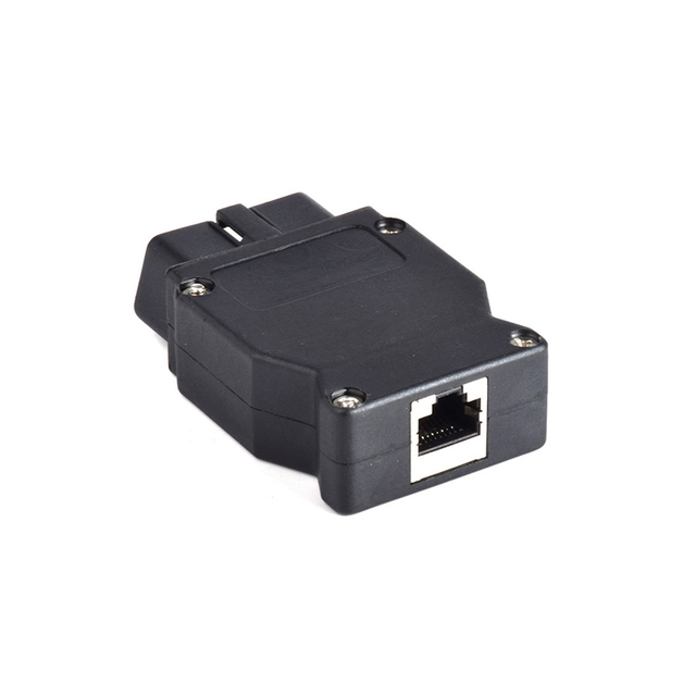 OBD2 16Pin For BMW Connector OBD Plug Adapter For BMW Enet Ethernet ESYS iCOM Coding For BMW Car Connector Diagnostic Tool