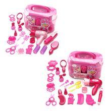 Make-Up-Toys-Set Girls Dressing Cosmetic Pretend Play Children Kid Simulation Travel-Kit