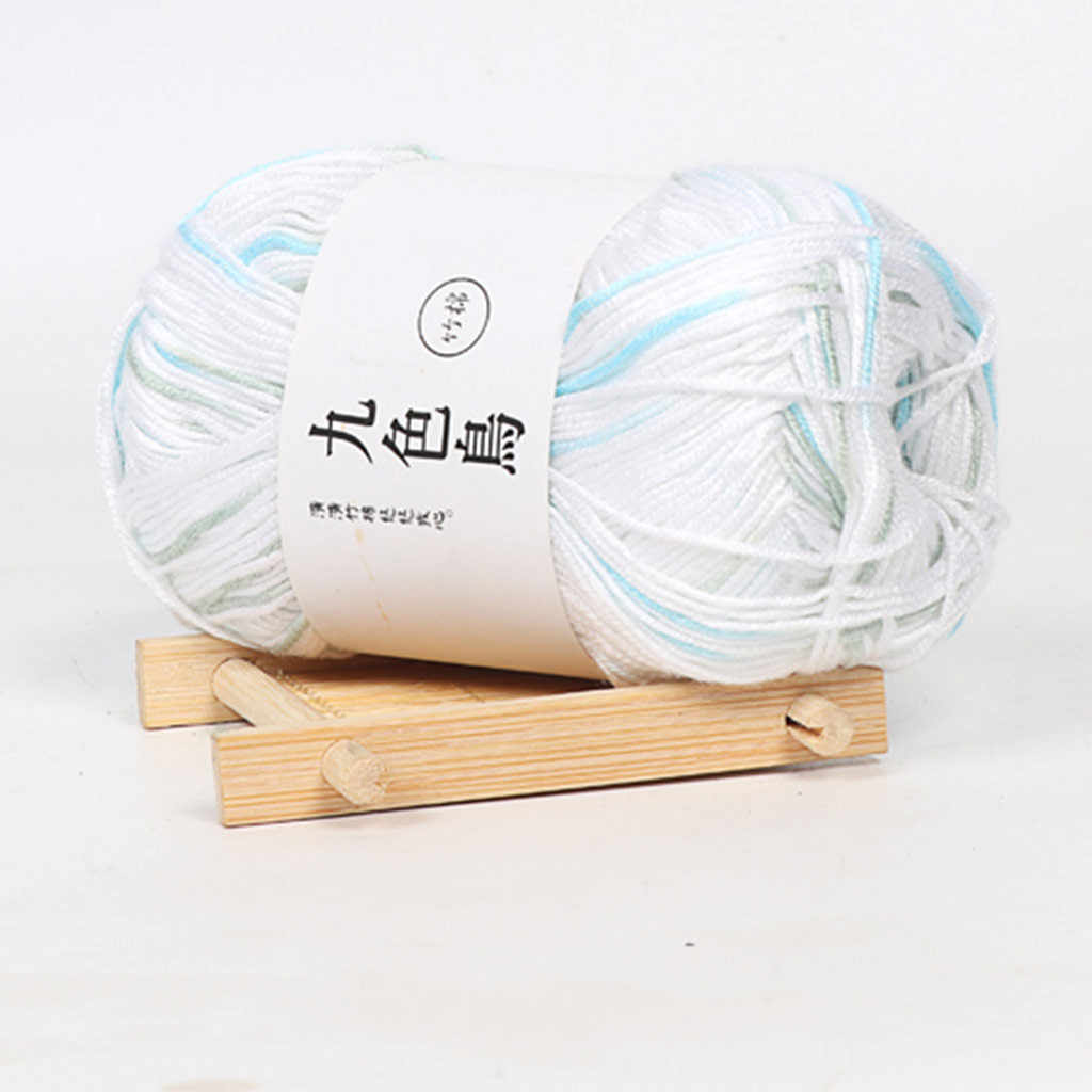 2019 Mới Than Tre Cotton Dòng Mịn Len Móc Thủ Công Cho Trẻ Em Sợi Cotton