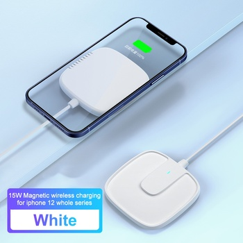 Goldfox Magnetic Wireless Charger For iPhone 12 Pro Charger 15W Fast Wireless Charger Pad For iPhone 12 Mini Samsung Xiaomi