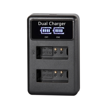 For CANON Battery USB dual charger LP-E6 LP-E6N LP-E8 LP-E10 LP-E12 USB BATTERY CHARGER фото