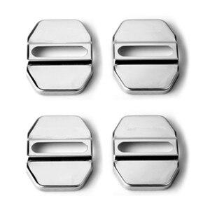Image 2 - 4 قطعة لمرسيدس بنز AMG شعار سيارة الباب قفل غطاء شارة شعار كاب ل GLA SLK CLA CLK GLB GLC GLE GLK GLS GL CLS اكسسوارات