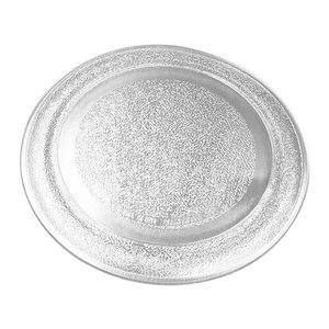 Image 2 - Стеклянная пластина для микроволновой печи 24,5 см, плоская крышка для микроволновой печи, детали для микроволновой печи Galanz Midea LG