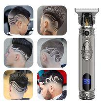 Профессиональный мужской триммер для волос Машинка стрижки 0