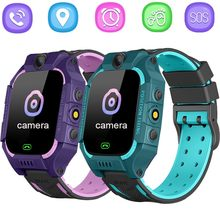 Kids Smart Watch Phone Game Touch Screen Watch LBS Tracker 2 Way Call SOS Camera Waterproof Childern Watch(China)