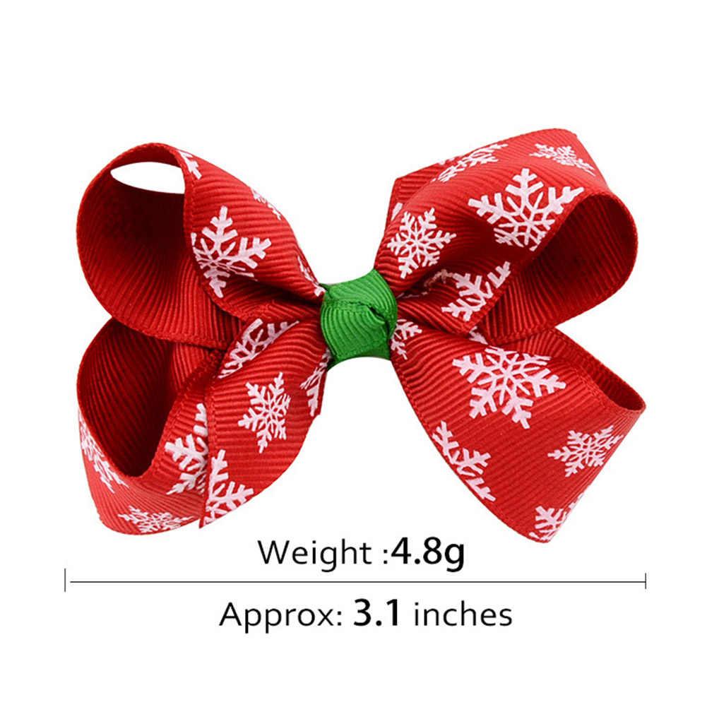 1 Trẻ Em Cung Tên Tóc Pin Unisex Trẻ Em Mini Giáng Sinh Tóc Kẹp Tóc Bé Sơ Sinh Bé Gái Mũ Barrettes Phụ Kiện